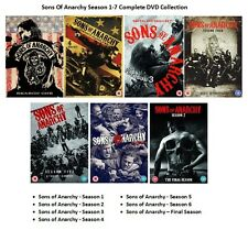 SONS OF ANARCHY COMPLETE SERIES 1 2 3 4 5 6 7 DVD COLLECTION ALL EPISODES SEASON