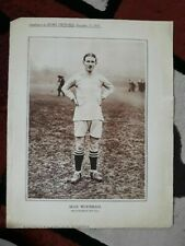 More details for max woosnam manchester city original supplement to sports pictures 17 decem 1921