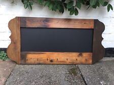 Wooden Chalkboard Hooks Rustic Kitchen Chalkboard Menu Blackboard Rustic Menu