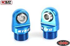 Choque tapa para parte superior del Rey Offroad amortiguadores z-s0866 RC4WD King Off Road Azul alli