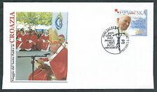 2003 VATICANO VIAGGI DEL PAPA CROAZIA ZAGREB - SV11