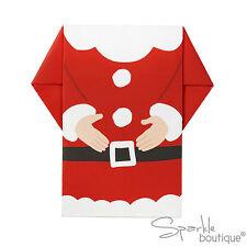 LUXURY SANTA NAPKINS -Father Christmas Design-Xmas Party / Buffet -RANGE IN SHOP