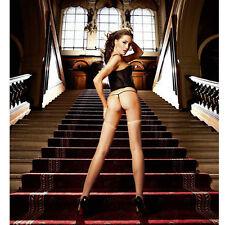 Calze trasparenti a rete sexy Tg Unica - Lingerie Biancheria intima sexy Donna