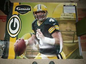 Fathead Life Size Brett Favre Green Bay Packers