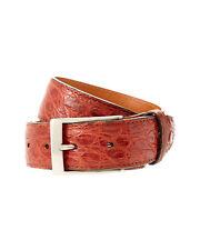 Brand New Trafalgar Matte Genuine Crocodile Belt Brown Size 30 Made in the USA