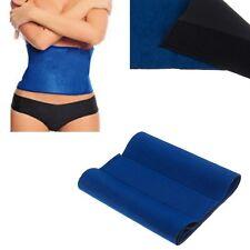 Soft Slim Exercise Waist Belt Wrap Fat Burner Belly Cellulite Body Shaper