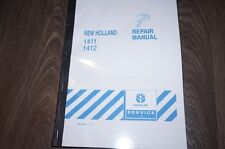 New Holland 1411 1412 Mower Conditioner Service Workshop Manual