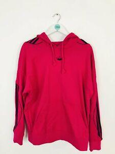 Adidas Women's Oversized Hoodie Sweatshirt | UK12 | Pink