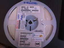 RESISTOR RES 0603 1% 5K23, TMTEC PN: CR-03FL7-5K23, 4952 PCS Reel