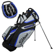 NEW Titleist Golf 14-way Stand / Carry Bag 14-way Top Graphite / Grey / Royal