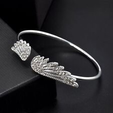 Angle Wings Bangle Adjustable Cuff Barcelets Bride Bridesmaids Jewelry Top Sell