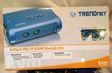 TRENDnet  TK (TK205K) 2-Ports External KVM switch PS/2