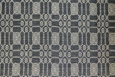 """Pine Creek Bayberry Weave Short Runner - Black and Tan, 14""""X32"""", New"""
