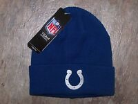 NWT NFL FOOTBALL INDIANAPOLIS COLTS Beanie Hat YOUTH ONE SIZE 8-20