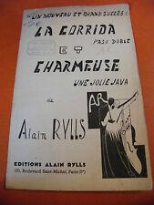 Partitura La Corrida De Toros y Charmeuse Alain Rylls Pasodoble Java