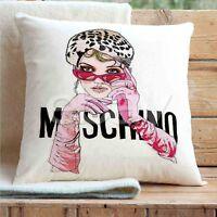 Moschino Custom Pillows Car Sofa Bed Home Decor Cushion Pillow Case