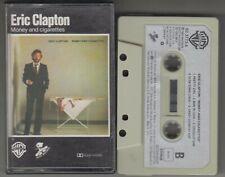 ERIC CLAPTON cassette MONEY AND CIGARETTES 1983 Spain