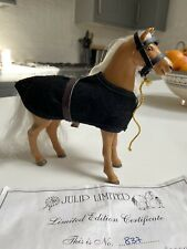 More details for julip horse - limited edition golden horse 1995 rare- only 2000 made
