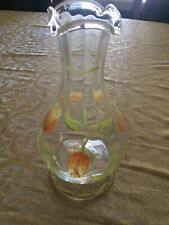 Princess House Cottage Tulip Fluted Flower Vase Made In Romania