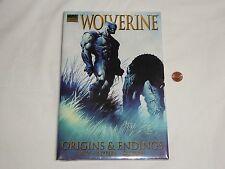 NEW Wolverine - Origins & Endings Hardcover Book SEALED Marvel Premiere Edition