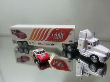"1990's Racing Champions Tractor Trailer - White Rain Racing - Mint Loose 7"""