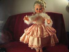 "RARE Vintage Beautiful Furga Rossana Doll 22"""