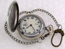 Molnija Star Great Patriotic War WWII Vintage USSR Russian Men's Pocket Watch