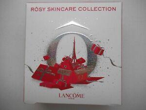 Lancome Rosy Skincare Collection 3 Piece Toner Makeup, Remover & Scrub NIB