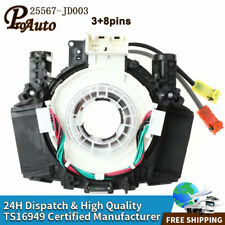 25567-ET025 Air Bag Spiral Cable Clock Spring Fits Nissan 350Z 370Z Versa Murano
