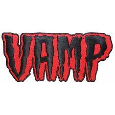 "Vampire ""Vamp"" Blood Dead Nametag Kreepsville Embroidered Iron On Applique Patch"