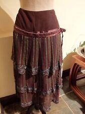Stunning ~ Karen Millen  Silk Skirt size 12 ~ New ~