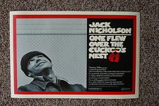 One Flew over the Cuckoos Nest #2 Lobby Card Movie Poster Jack Nicholson