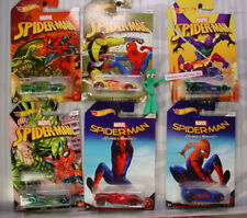 2017 MARVEL SPIDER-MAN HOMECOMING🎬Hot Wheels☠Walmart Exclusive 6 CAR SET☠1/64