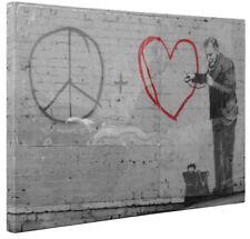 Street Art White Art Prints