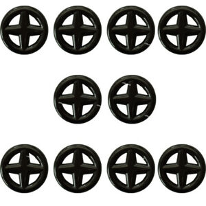10 Hood Insulation Retainer Plastic Clip Fits For Nissan 65832-F5000 65846-30F00