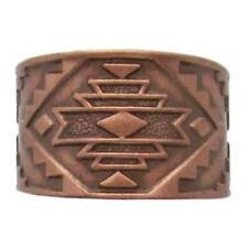 Solid Copper Ring Southwest Handmade Western Jewelry Adjustable Size Band New