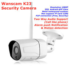 Wanscam K23 Outdoor Wireless Waterproof IP Security Camera Webcam HW0043 Upgrade