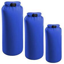 Confezione da 3 sacchi a secco da campeggio impermeabile resistente agli agenti atmosferici Kayak Escursionismo Bag 2/4/8l