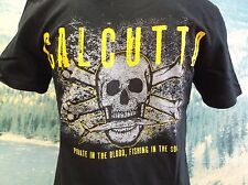 Calcutta Mens Pirate Soul T-Shirt ~ Small ~ New ~ Free Shipping