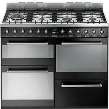 SMEG Black Stainless Steel Home Cookers