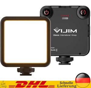 LED Videoleuchte mit Eingebautem Akku Kamera Licht Dauerlicht für DSLR Camcorder