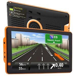 9 inch truck GPS Navigator ultra bright screen with newest EU map 256RAM 8G NEW