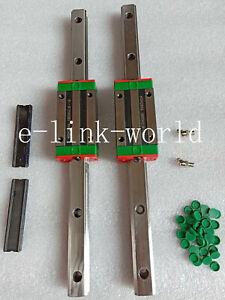 2 set HGR25-700mm Linear Rail & 2 pcs HGH25HA Long Type Block Bearing