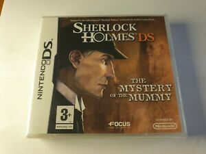 Sherlock Holmes The Mystery of the Mummy Nintendo DS Game New & Sealed