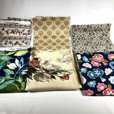 Vintage Bryant House n Home Joann Floral Flower Fabric Material Bulk Lot of 6 Pc