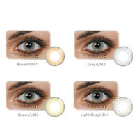 1 Pair Big Eye Makeup Charming Colored Contact Lenses Unisex Cosmetic  Bien