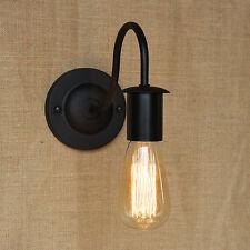 Iron Vintage Retro Industrial Loft Rustic Wall Sconce Light Outdoor Lamp Fixture
