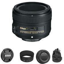 Nikon 50mm f/1.8G AF-S NIKKOR Lens for Nikon DSLR Cameras BRAND NEW