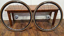 H + Plus Son Archetype Black Dura Ace 7600 Track Bike Hubs Wheelset fixed/fixed