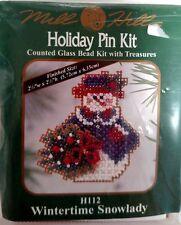 Mill Hill Cross Stitch Kit-Counted Glass Bead Kit-NEW